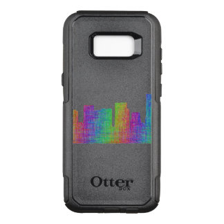 Portland skyline OtterBox commuter samsung galaxy s8+ case