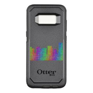 Portland skyline OtterBox commuter samsung galaxy s8 case