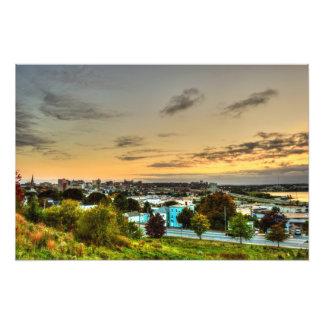 portland skyline photo print