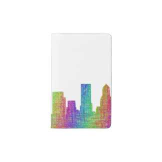 Portland skyline pocket moleskine notebook