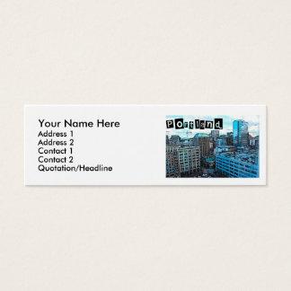 Portland Skyline Profile Card