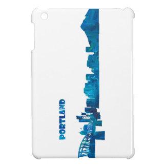 Portland Skyline Silhouette iPad Mini Case