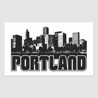Portland Skyline Sticker
