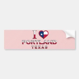 Portland, Texas Bumper Sticker