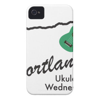 Portland Ukulele Wednesdays Case-Mate iPhone 4 Case