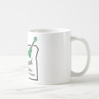 Portland Ukulele Wednesdays Coffee Mug