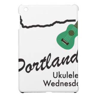 Portland Ukulele Wednesdays iPad Mini Case