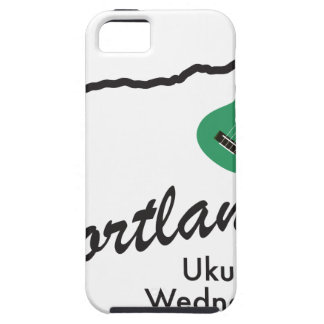 Portland Ukulele Wednesdays iPhone 5 Cases