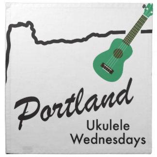 Portland Ukulele Wednesdays Napkin