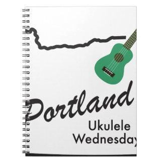 Portland Ukulele Wednesdays Notebook