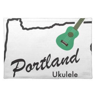 Portland Ukulele Wednesdays Placemat