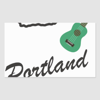Portland Ukulele Wednesdays Sticker