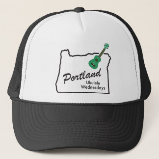 Portland Ukulele Wednesdays Trucker Hat