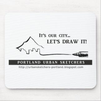 Portland Urban Sketchers Mouse Pad
