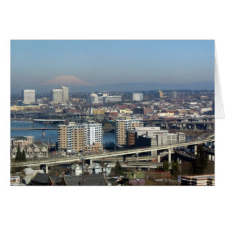 Portland Viewed from the Aerial Tram Card
