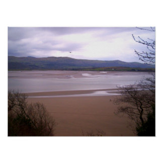 Portmeirion at Low Tide poster