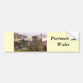 Portmeirion Bumper Sticker