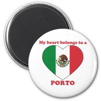 Porto 2 Inch Round Magnet