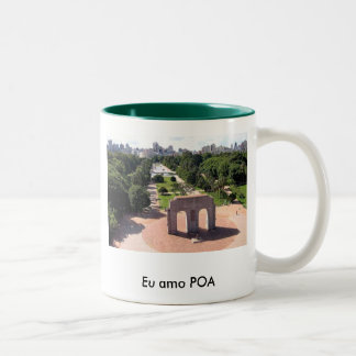 Porto Alegre Two-Tone Coffee Mug