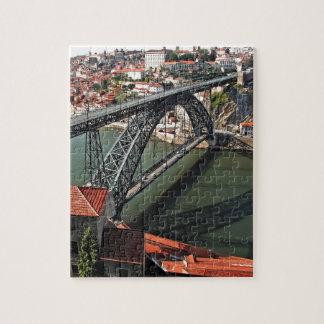 Porto city Iron Bridge, Portugal Jigsaw Puzzle