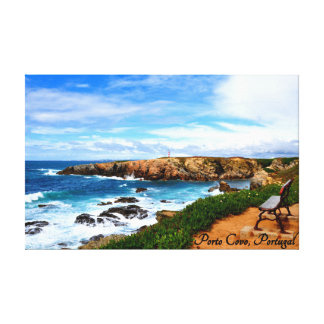 Porto covo, portugal canvas print