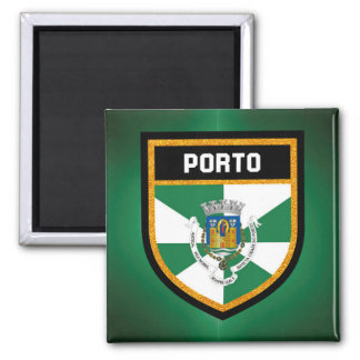 Porto Flag Square Magnet