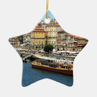 Porto, Portugal Ceramic Ornament