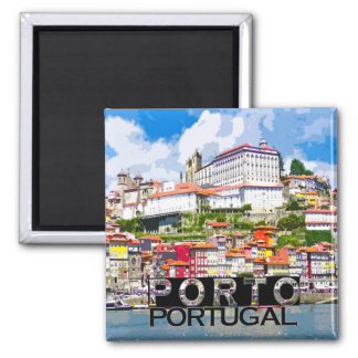 Porto Square Magnet