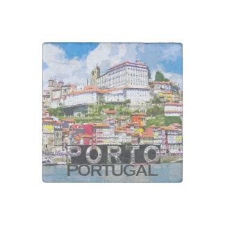 Porto Stone Magnets
