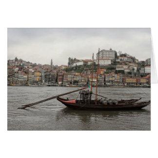 Porto waterfront, Portugal Card