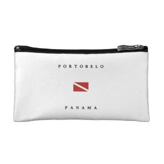 Portobelo Panama Scuba Dive Flag Cosmetics Bags