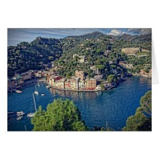 Portofino, Italia - Greeting Card