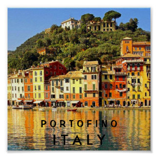 PORTOFINO ITALY POSTER