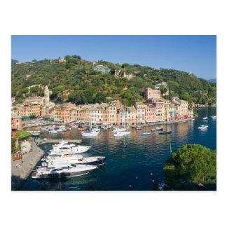 Portofino  panorama postcard