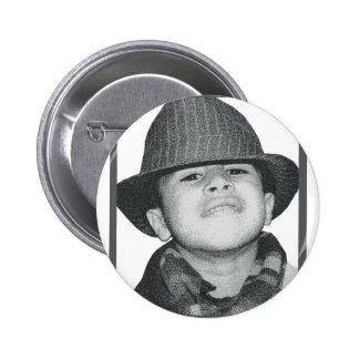 portrait 2 inch round button
