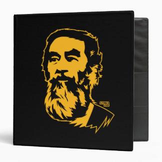 Portrait barbu de Saddam Hussein Classeur Vinyle