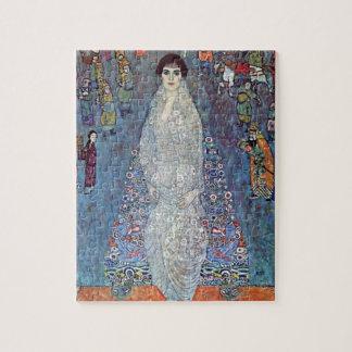 Portrait Baroness Elisabeth Bacchofen Echt, Klimt Jigsaw Puzzle