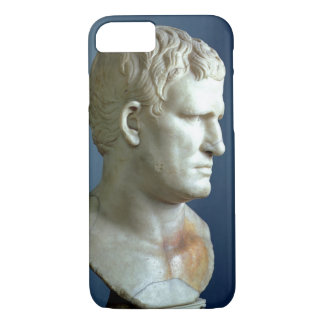 Portrait bust of Agrippa (63-12 BC) Roman (marble) iPhone 7 Case