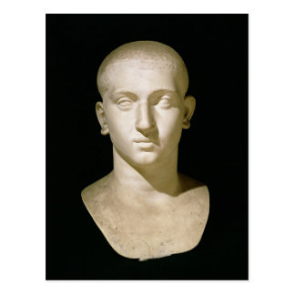 Portrait bust of Emperor Severus Alexander Postcard