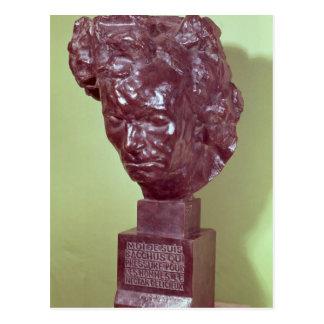 Portrait Bust of Ludwig van Beethoven  1901 Postcard