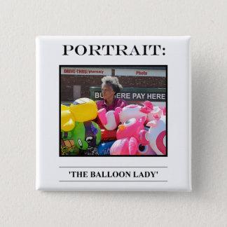 Portrait Button No. 8