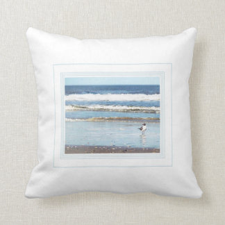 Portrait by the Sea Pillow