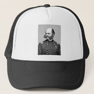 Portrait Civil War General Ambrose E. Burnside Trucker Hat