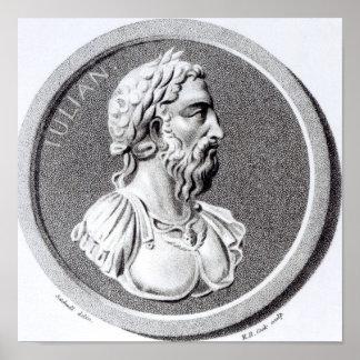 Portrait de Didius Julianus Poster