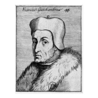 Portrait de Francesco Guicciardini Cartes Postales