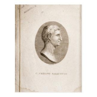 Portrait de Gaius Crispus Sallust Carte Postale