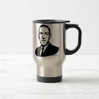 Portrait de HP Lovecraft Mug De Voyage En Acier Inoxydable