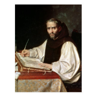 Portrait de Jose de Siguenza, antérieurement et Carte Postale