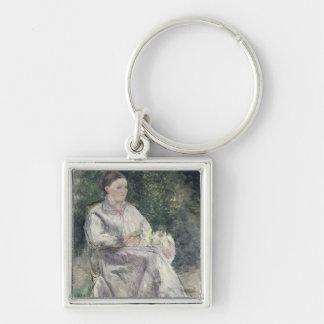 Portrait de Julie Velay, épouse de l'artiste Porte-clefs
