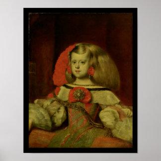 Portrait de la margarita d'Infanta